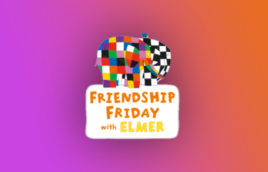 Friendship Friday with Elmer logo
