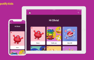 Spotify kids tablet image