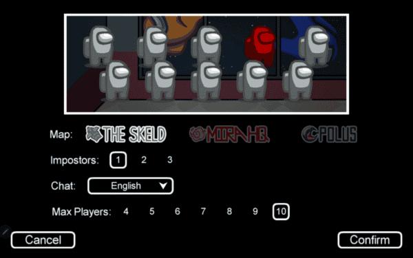 Entre nós screenshot do jogo