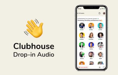 Clubhouse app logo