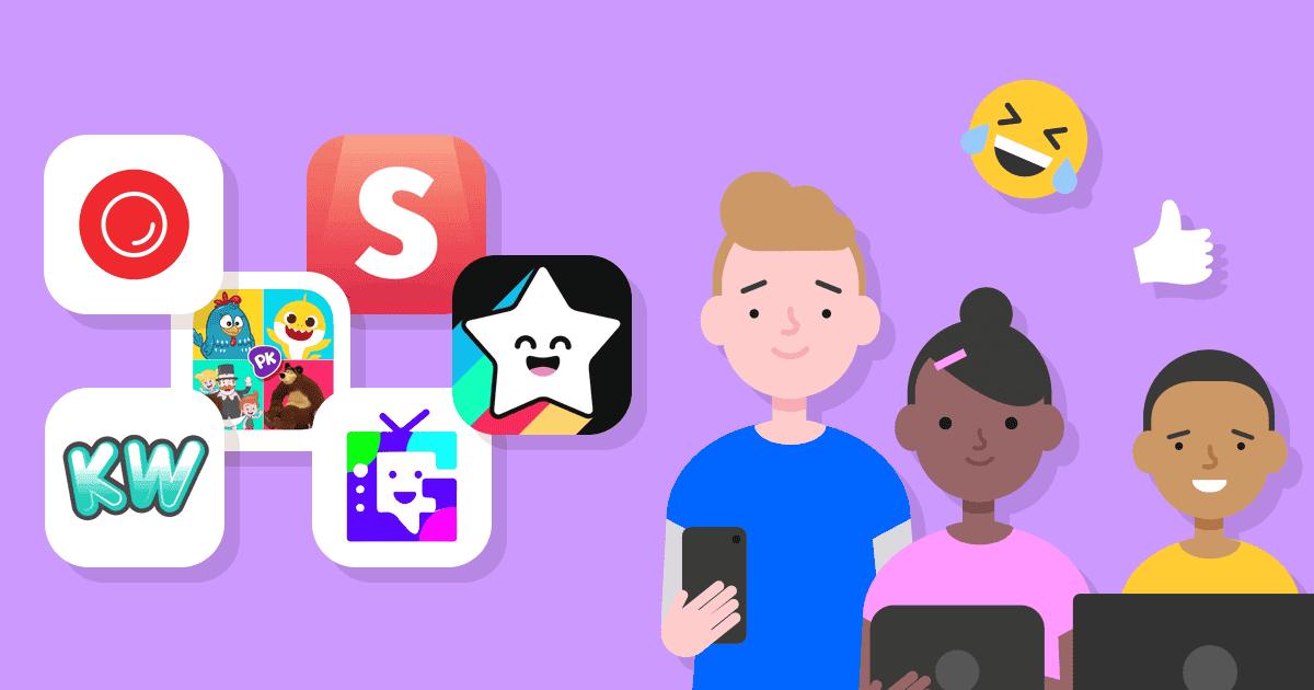 Des réseaux sociaux conçus pour les enfants